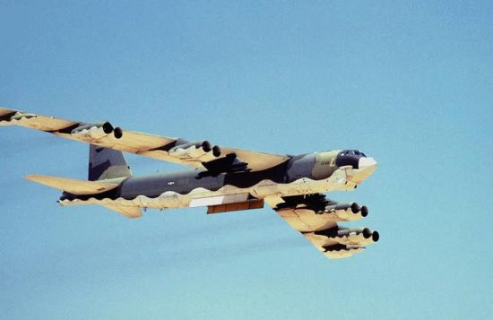 B-52 Stratofortress strategic bomber