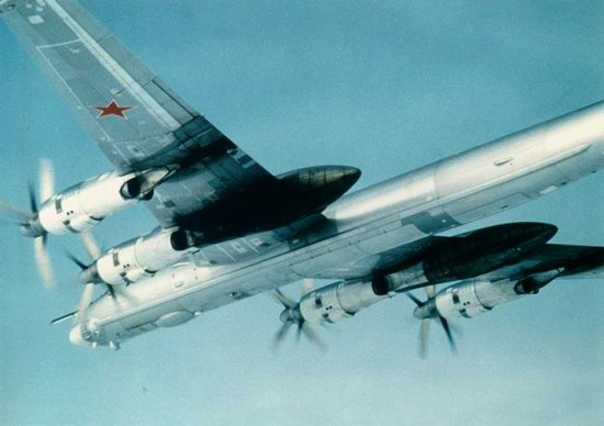 Large engine fairings of the Tupolev Tu-95