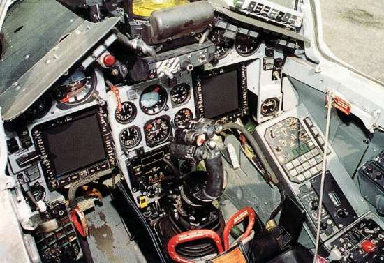 Aerospaceweb org | Aircraft Museum - MiG-29 'Fulcrum' Cockpit Pictures