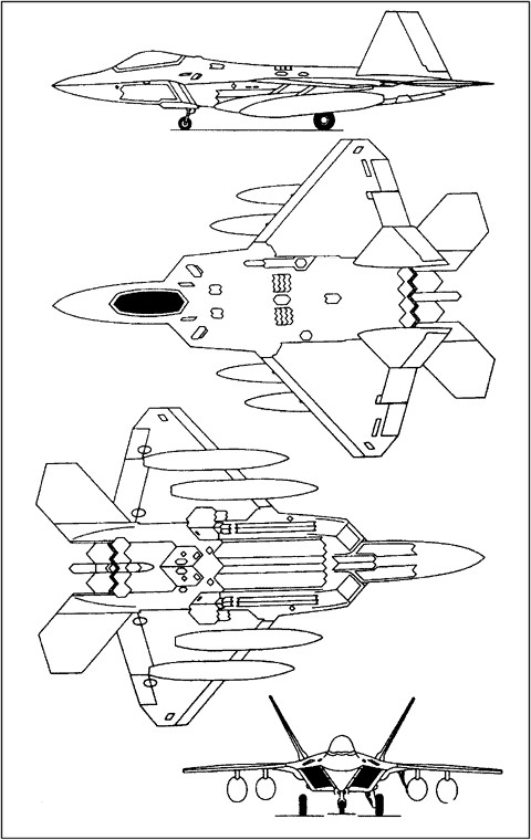 f-22 diagram related keywords