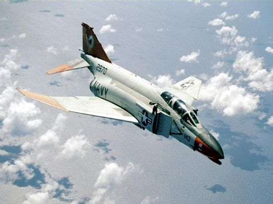 Third generation fighter:  F-4 Phantom II