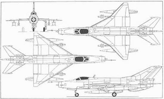 Aerospaceweb.org | Aircraft Museum - MiG-21 'Fishbed' Pictures