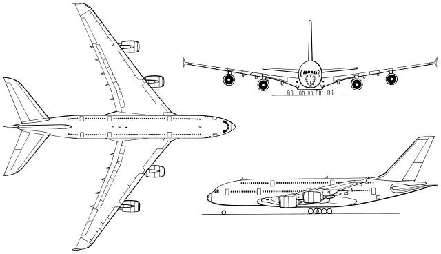 Free coloring pages of a380 airplane for A380 coloring pages