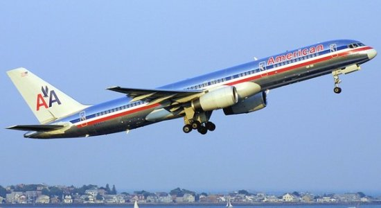 American Airlines Boeing 757-200 with tail number N644AA