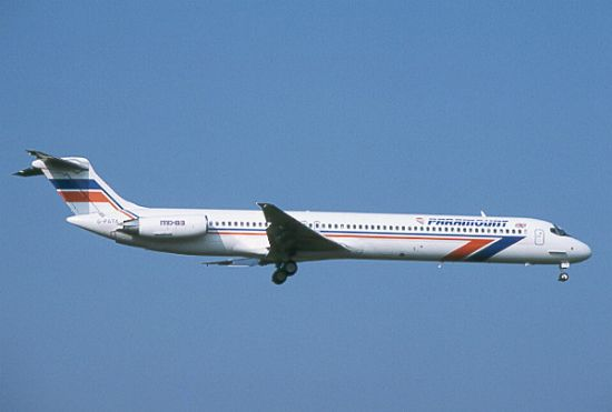 The McDonnell Douglas MD-80 is a twin-engine passenger aircraft ...