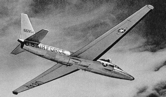 Early version of the U-2 in flight
