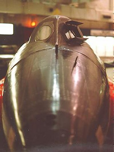 Closeup of X-15... X 15 Cockpit