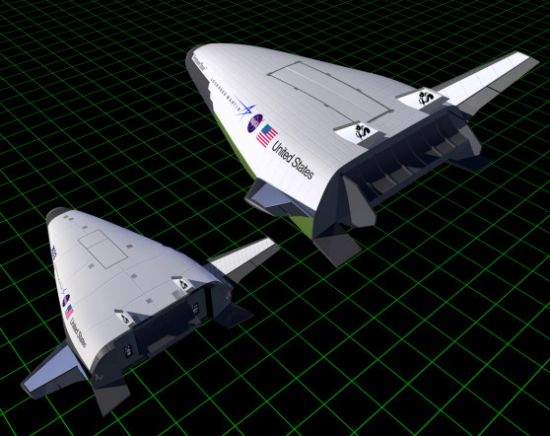 Comparison of the X-33 and VentureStar vehicles