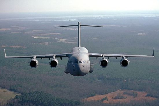 C-17 Globemaster crashes in Alaska