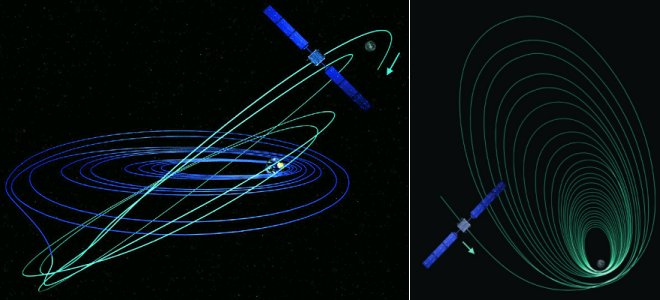 Path Over Earth Orbit - Pics about space