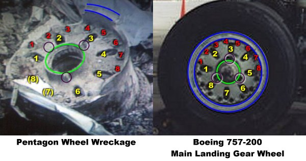 Aerospaceweb org | Ask Us - Pentagon & Boeing 757 Wheel