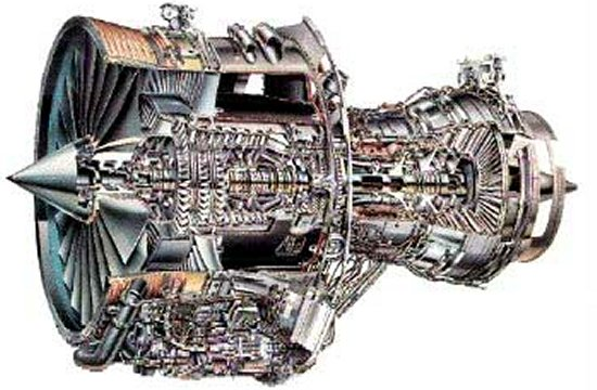 Cutaway Of The Rollsroyce Rb211535 Turbofan: Rolls Royce Plane Engine Diagram At Shintaries.co