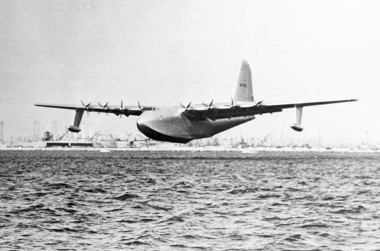 Spruce Goose during its only flight