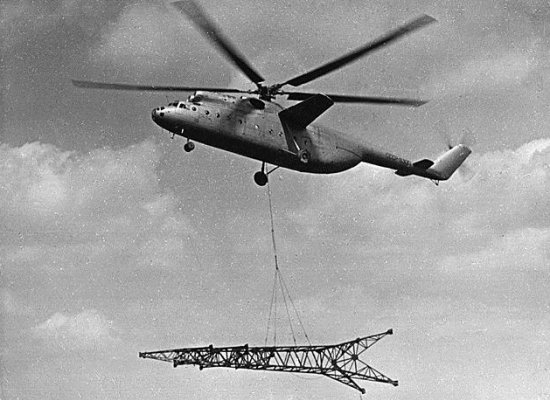 Mil Mi-6 lifting a large payload