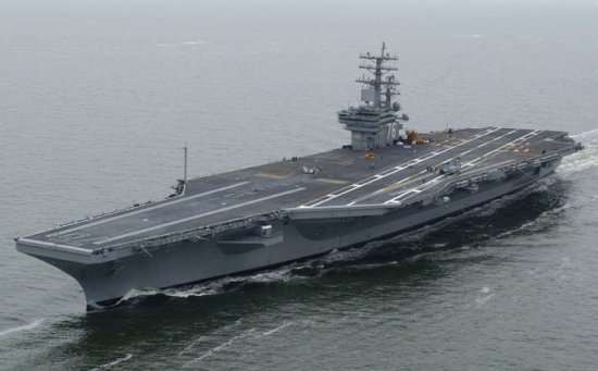 USS Ronald Reagan (CVN-76), the newest aircraft carrier in the US Navy