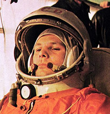 first astronaut to orbit earth -#main