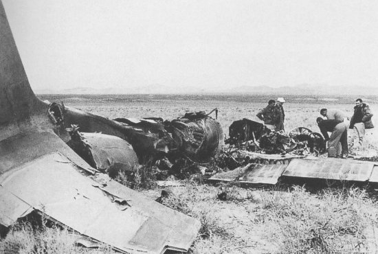 U-2 wreckage captured in the Soviet Union